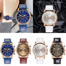 Ladies quartz wristwatch reloj mujer Arrival Women Leather Q