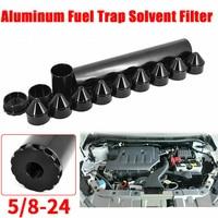 100% 6061 T6 Aluminum Fuel Filters 5/8 24,1 3/4X10 Car Fuel Filter Car Solvent Trap for NAPA 4003 WIX 24003 1.70 WLR AFF01 6