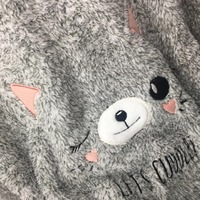 Cute Cat Pajamas Set Warm Sexy Pajamas Set Home Sleepwear Femme Pyjama Long Sleeves O Neck Pjs 2019 Winter Top Fashion