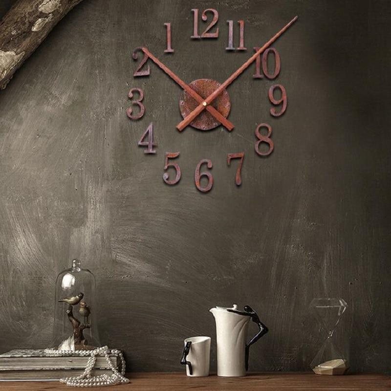 DIY რეტრო საათი საატი - სახლის დეკორაცია - ფოტო 2