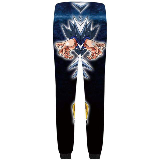 KYKU Dragon Ball Pants Men Goku Straight Trousers Joggers 3d Anime Britches Black Mens Sweatpants 2018 New Fashion Bottoms