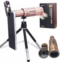 Orsda 20X Telescope Telephoto Lens for iPhone Smartphone With Universal Clip Tripod Optical Retro Color HD Zoom Phone Lenses Kit|Mobile Phone Lens|Cellphones & Telecommunications -