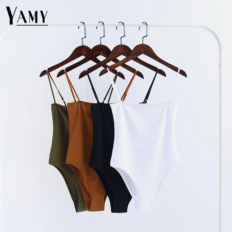 Sexy Bodysuit Women Jumpsuit Rompers 2020 Summer White Jumpsuit Black Bodycon Overalls Girl Beach Bodysuit Overalls For Women