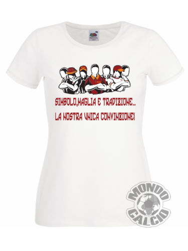 timeless design 6d167 dad73 US $11.99 40% OFF T SHIRT ULTRAS AS ROMA TRADIZIONE CURVA SUD MAGLIETTA  MAGLIA DONNA JERSEY BIA Cool Casual pride t shirt men Unisex New-in  T-Shirts ...