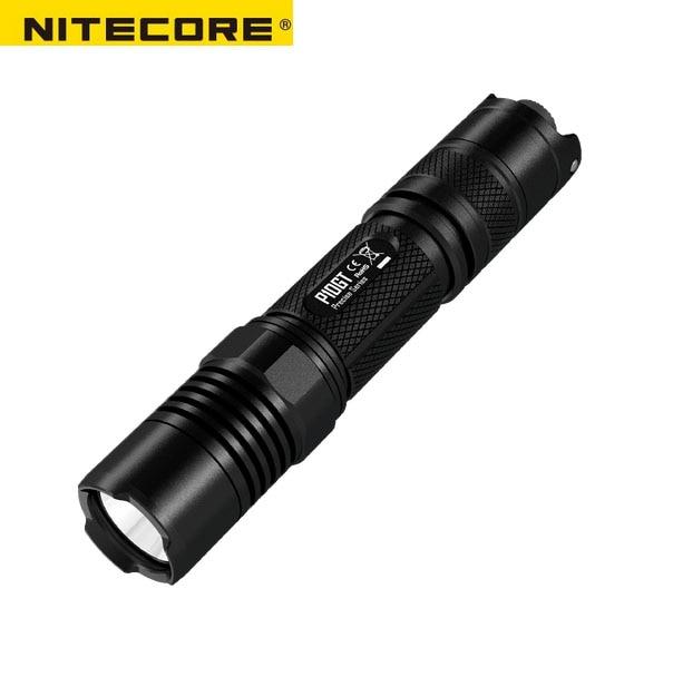 NITECORE P10GT CREE XP-L HI V3 LED 900 Lumens Light Flashlight and Portable Police LED Flashlight for Self Defense nitecore mh25gt 1000lm cree xp l hi v3 led rechargeable flashlight torch