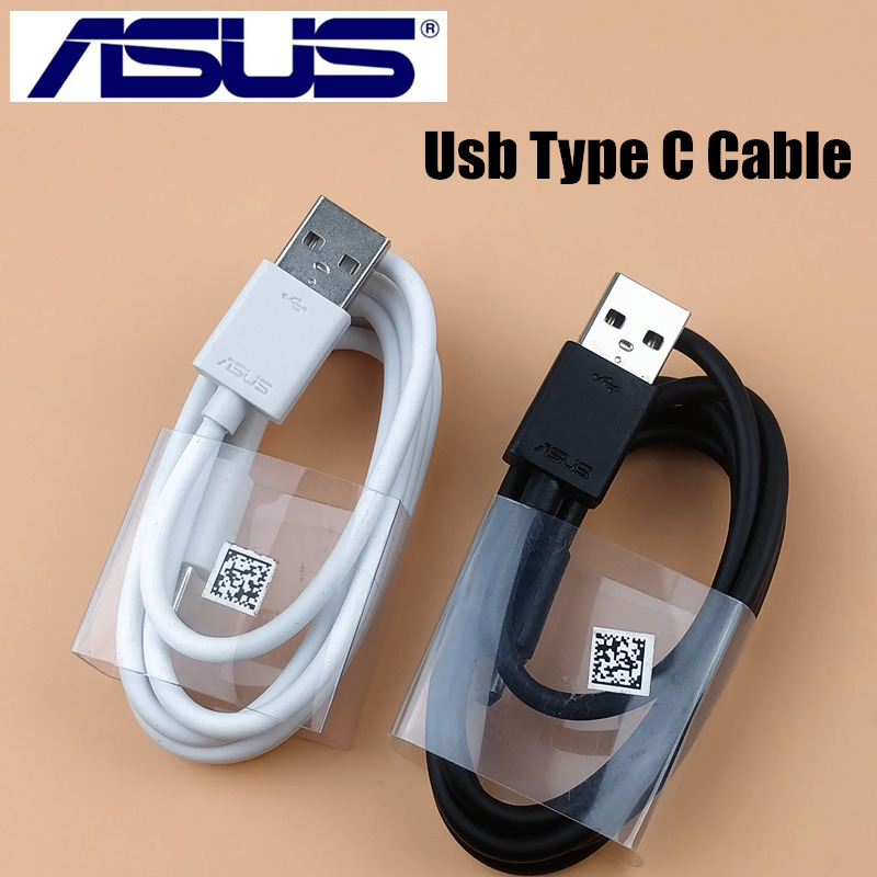 Original Usb Type C quick Fast charge Asus charger Cable For ASUS ZenFone 5 ZE620KL 3 Zoom ZS570KL 5Z Mobile Phone-in Mobile Phone Chargers from Cellphones & Telecommunications