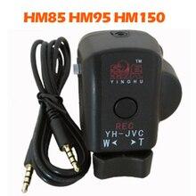 Pro controlador de camcorder com zoom remoto rec controle lanc para jvc hm70 hm85 hm95 hm150 câmera para tripé alça