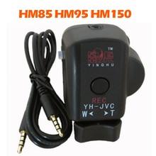 פרו למצלמות בקר עם REC מרחוק זום LANC בקרת עבור JVC HM70 HM85 HM95 HM150 מצלמה לחצובה ידית