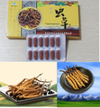 3 pacotes de Cordyceps Sinensis Cápsulas Natural Cápsulas Da Ampliação Do Pénis/Epimedium Extrato Icariin Suplemento de Saúde