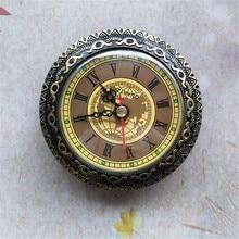5 個古いバッテリークォーツ時計挿入直径 92 ミリメートル diy デスク時計製造キット