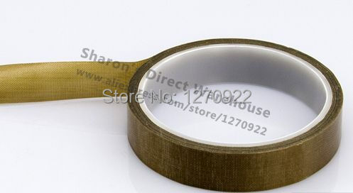 1 Roll 25mm*10 meters *0.13mm PTFE High Temperature Resist Insulation Adhesive Teflon Tape for LCD Sealer with tracking number 1 roll 30mm 10 meters 0 13mm high temperature stand hot insulating adhesive wear resistance teflon tape for lcd bga roller