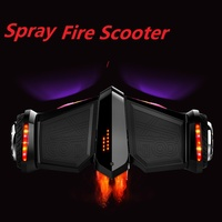 Reborn 8 Inch Self Balancing Scooter Hover Board Electric Scooter Skateboard Spray Fire Steam Hoverboard Bluetooth