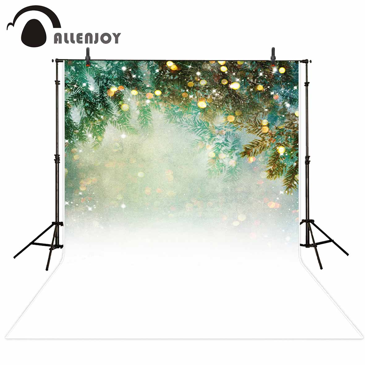 Allenjoy photography background glitter Bokeh Pine Snow Winter Theme backdrop photo background studio camera fotografica allenjoy photography background moon castle witch bat pumpkin halloween theme backdrop photo studio camera fotografica