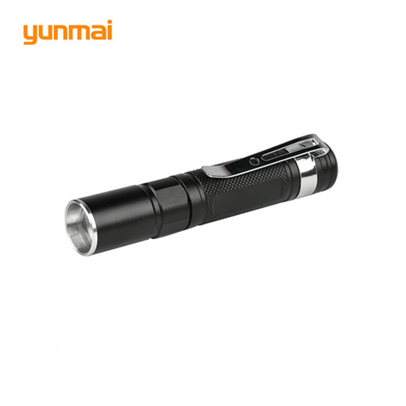 Portable Mini Penlight CREE Q5 2000LM LED Flashlight Torch Pocket Light Waterproof Lantern AAA Battery Powerful Led For Hunting free shipping tank007 e10 cree r3 flashlight led pocket clip medical light torch penlight aaa flashlight penlight medical