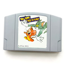Save Tom Jerry in Fists of Furry English Language for 64 bit NTSC Video Game Console(China)
