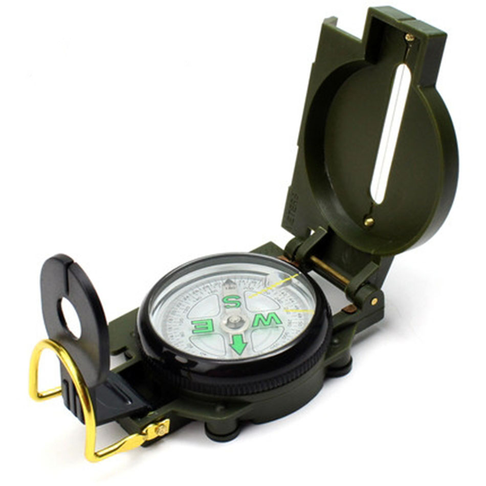 Fine Vietnam War Us Army Military M-1950 Lensatic Compass Outdoor Hiking Hunting Cheerleading & Souvenirs Team Sports