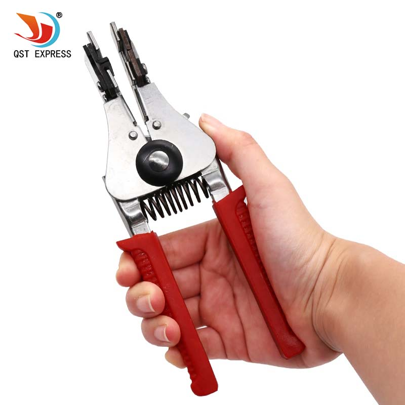 Hot Sale Automatic Wire Stripper Crimping Pliers Multifunctional Terminal Tool Durable and Reliable Dropshipping newacalox multifunction self adjustable terminal tool kit wire stripper crimping pliers wire crimp screwdriver with tool bag