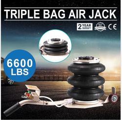 Triple Tasche Air Jack Pneumatische Jack 6600LBS Quick-Lift 3 Ton Heavy Duty Jacking