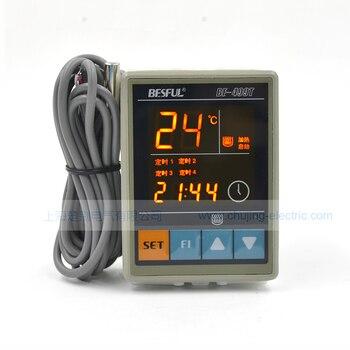 BESFUL termostato AC 90-250 V, 50Hz/60Hz establecer 4 veces-10 ~ 99 grados BF-499T controlador de temperatura con sensor de temperatura