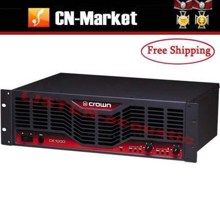 crown ce1000 power amplifier free shipping on alibaba group. Black Bedroom Furniture Sets. Home Design Ideas