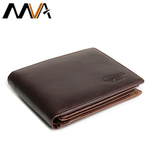 Модный короткий Мужской кошелек, кожаный брендовый мужской кошелек для монет, винтажный кошелек из натуральной кожи для кредитных карт, кошельки для мужчин, сумка для денег 8866