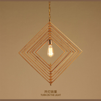 Foldable Bamboo Lighting Pendant Creative Diy Home Lamp Hanging Light Fixtures E27 E26 Socket Edison Lamp
