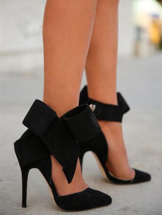 sandales a noeud papillon