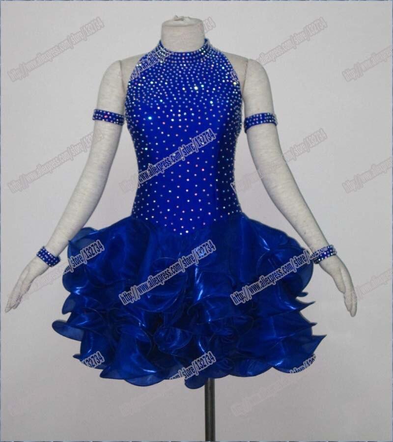 Sacensības latīņu deju kleitā, tango salsa samba deju kleitā, latīņu deju apģērbā, salsas kleitā, DMC akmeņu bārkstis latīņu kleitā, meitenes