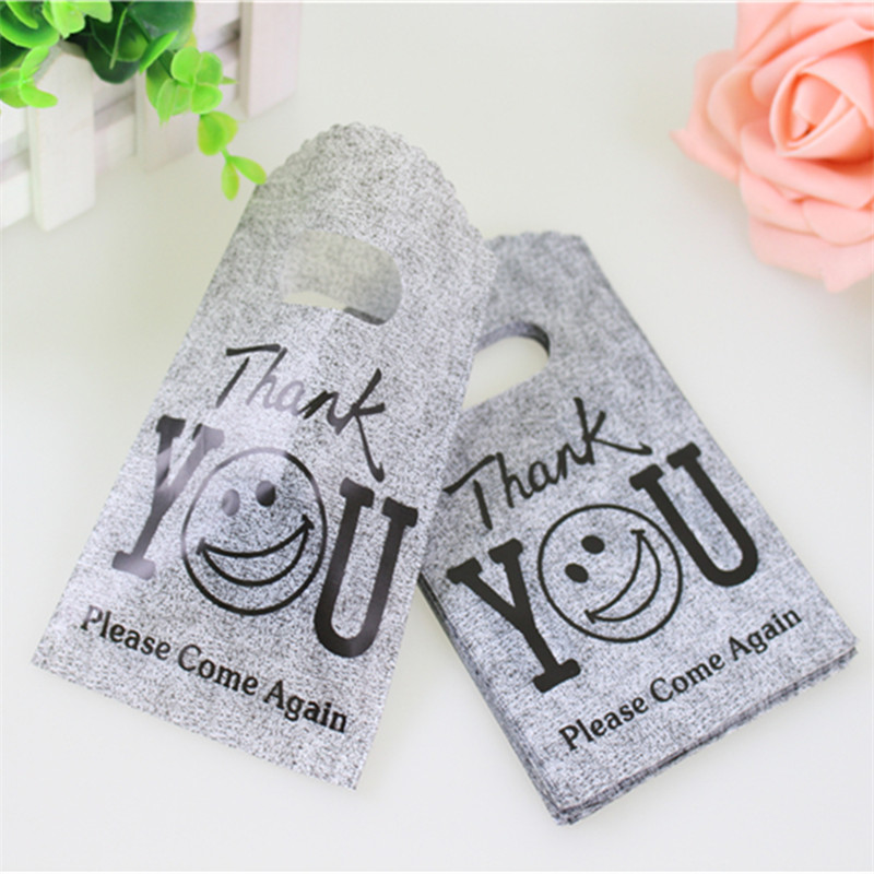Лидер продаж, новый дизайн, оптовая продажа, 50 шт./лот/, 9*15 см, хорошее качество, серые мини-сумки, маленькие пластиковые сумки для покупок