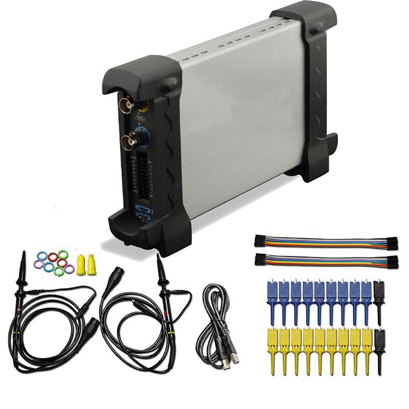 6022BL 20Mhz Bandwidth Hantek Oscilloscope Generator & 16ch Logical Analyzer Combination Extend Channel