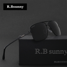 Men Brands polarized sunglasses Fashion Business Classic high quality sunglasses block Driving glare UV400 goggle R.Bsunny R1612