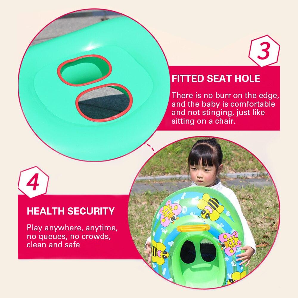 Verano bebé piscina accesorios cartón anillos inflables bebé ... 3616b704933