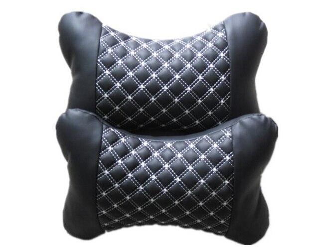 Korea Wine bone neck pillow headrest car headrest Pillow / neck pillow / cushion / Comfort Pillow Pair