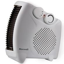 Тепловентилятор MAXWELL MW-3453 W (Мощность 2000 Вт, 2 режима мощности + режим вентиляции без нагрева, площадь обогрева до 20 кв.м, защита от перегрева)