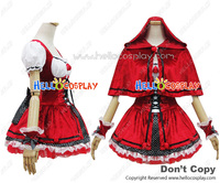 Angel Feather Little Red Riding Hood Costume Dress Cosplay Outfit H008