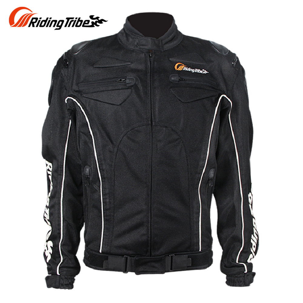 ФОТО Riding Tribe Summer Breathable Motorcycle Racing Protective Armor Jacket Knight Riding Motorbike Motorcycle Jacket