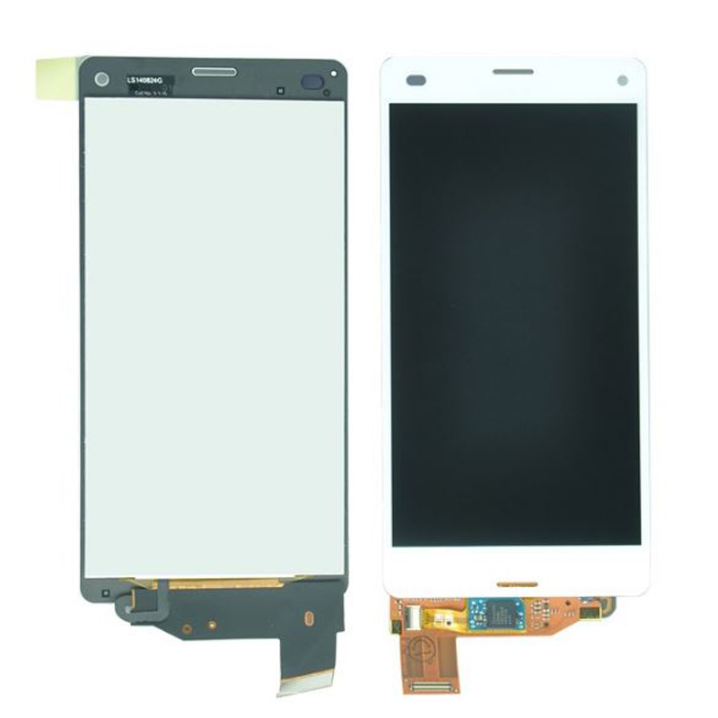 Подробнее о 2pcs/lot For Sony Xperia Z3 compact Z3 mini D5803 D5833 LCD Display with Touch Screen Digitizer Assembly Free shipping 10pcs free dhl black white lcd display touch screen digitizer assembly with frame for sony xperia z3 mini compact d5803 d5833