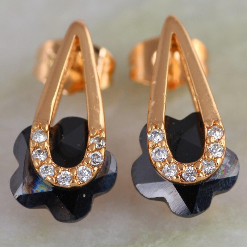 Onyx ohrringe gold