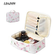 Organizer Travel Fashion Lady Cosmetics Cosmetic Bag Beautician Storage Bags Large Capacity Women Makeup Bag Travel Handbag недорого