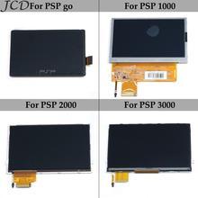 JCD ЖК экран ЖК дисплей Замена экрана для PSP GO для PSPgo для PSP 1000 2000 3000 игровая консоль для PSP1000 PSP2000