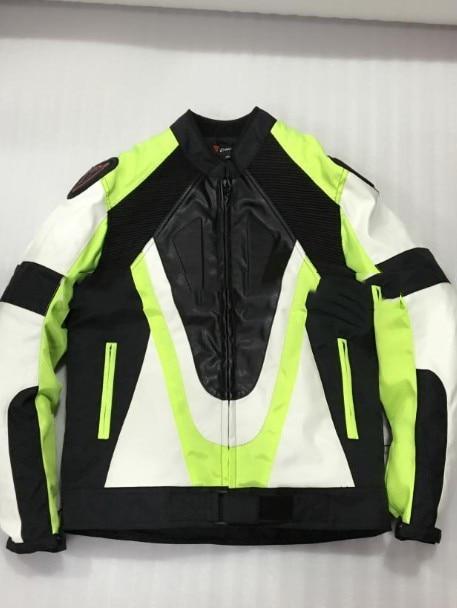 Moto rcycle wodoodporna kurtka Oxford tkaniny 600D PU kurtka wyścigowa jazda dain garb zielony sportowe zespołu płaszcz jaqueta moto cykl moto