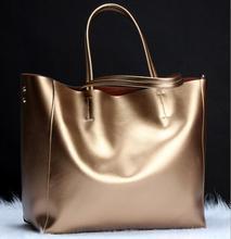 Fashion Women Real  Causual Women Handbag Large Shoulder Bags Elegant Ladies Tote  2016
