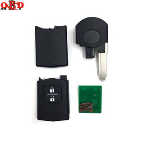 Image 4 - HKOBDII New For Mazda 3 6 2 Buttons Flip Remote Car Key 315/433MHZ With 80bit 4D63 Chip M3 M6,Hot!High quality