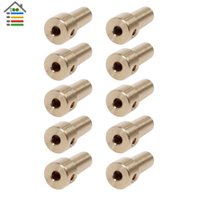 10pcs Brass Copper JTO Taper Collet Mounted for 3 17mm Electric Motor Shaft Connecting Rod Power