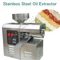 Бытовой Масляный Пресс из нержавеющей стали масляный экстрактор арахис/кунжутное масло пресс ing машина SG30 2D высокая урожайность мощная мел