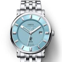 Switzerland LOBINNI Top Luxury Brand Watches Men Sapphire relogio Japan MIYOTA 9015 Automatic Mechanical Mens Clock L5001-1