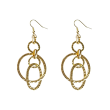 Hot Selling Multi Circles Cluster Earrings For Women Jewelry