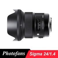 Sigma 24 мм f/1,4 DG HSM Книги по искусству объектива