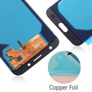 Image 5 - Para Galaxy J7 2017 pantalla táctil J730 J730f Lcd para Samsung J7 Pro pantalla digitalizador montaje ajustable con herramientas adhesivas
