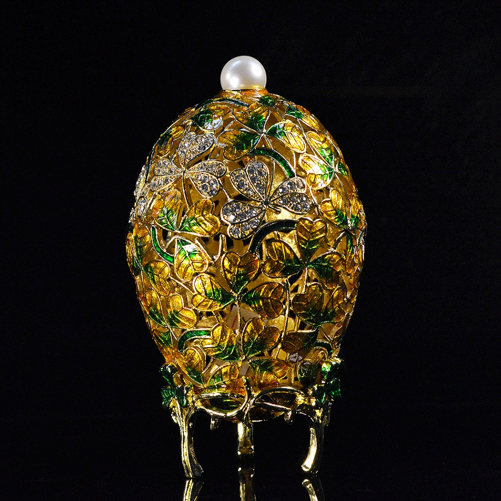 QIFU New Arrival Beautiful Faberge Egg For Jewelry Box